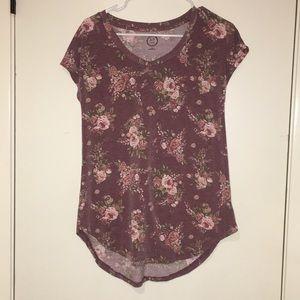floral short sleeve shirt!